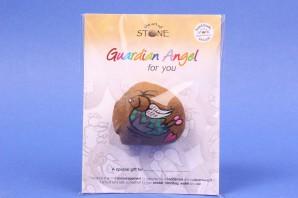 Guardian Angel for you special gift Schutzengel the art of stone EGM11