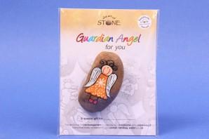 Guardian Angel for you special gift Schutzengel the art of stone EGM1