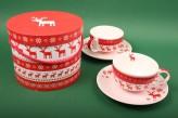 """Cappuchino-Tassen Set """"Magic Christmas"""""""