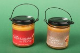 Honig im Henkelglas, 2-fach sortiert Marizpan & Zimt (2x 250 g)
