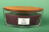"WoodWick® ""Velvet Tobacco"" Ellipse Jar 453.6 g"