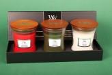 WoodWick® Mini Jar Geschenkset