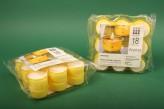 """Premium Teelichte """"Citronella"""" 7h, 18 Stück"""